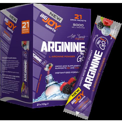 Big Joy Arginine Go! 21 Drink Packets Ürün Fotoğrafı