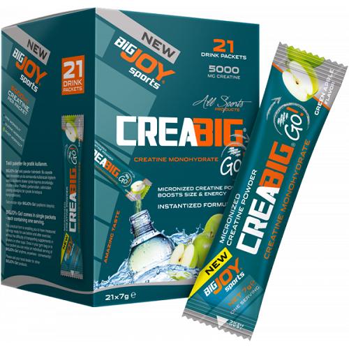 Big Joy Crea Big Go! 21 Drink Packets Ürün Fotoğrafı
