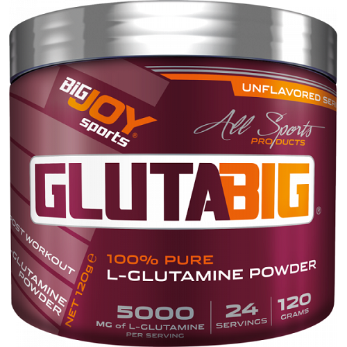 Big Joy Gluta Big % 100 Glutamine Powder 120 Gram Ürün Fotoğrafı