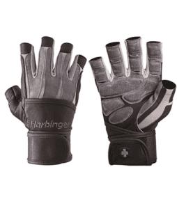 Harbinger Bioform Wristwrap Eldiven Gri'nin Ürün Fotoğrafı