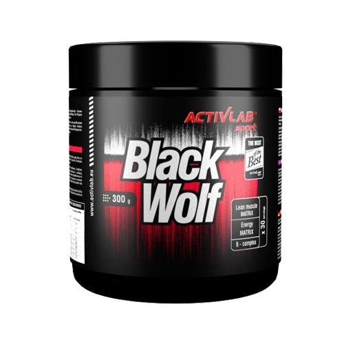 Activlab Sport Black Wolf Pre-Workout 300 Gram Ürün Fotoğrafı