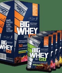Big Joy Big Whey Go Protein 32 Sachet Ürün Fotoğrafı