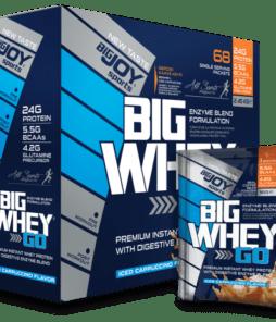 Big Joy Big Whey Go Protein 68 Sachet Ürün Fotoğrafı