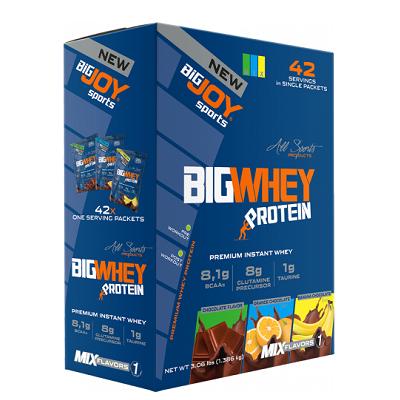 Big Joy Big Whey Protein 1386 Gr 42 SachetÜrün Fotoğrafı