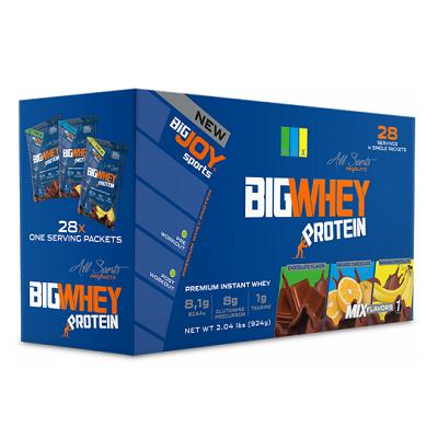 Big Joy Big Whey Protein 924 Gr 28 Sachet Ürün Fotoğrafı