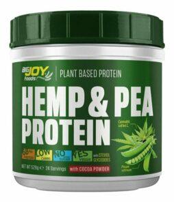 Big Joy Hemp & Pea Protein 528 Gr Ürün Fotoğrafı