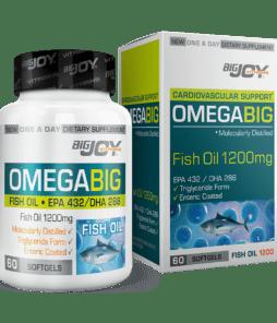 Big Joy Omega Big Balık Yağı 60 Kapsül Ürün Fotoğrafı