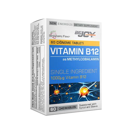Big Joy Vitamin B12 60 Çiğneme Tablet Ürün Fotoğrafı