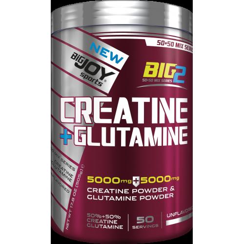 BigJoy BIG2 Creatine + Glutamine 505 Gram'ın Ürün Fotoğrafı