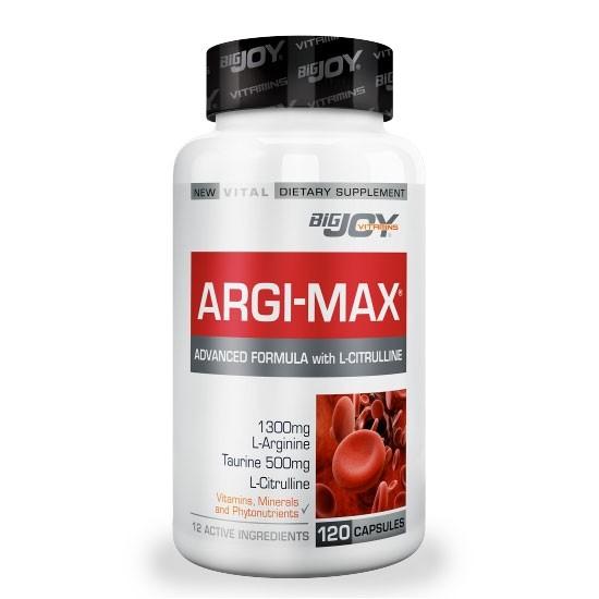 Big Joy Vitamins Argimax 120 Kapsül Ürün Fotoğrafı