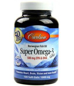 Carlson Omega 3 Balık Yağı 50 Kapsül Ürün Fotoğrafı
