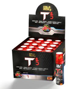 Cold İron Nutrition T-UP 20 Ampul Ürün Fotoğrafı