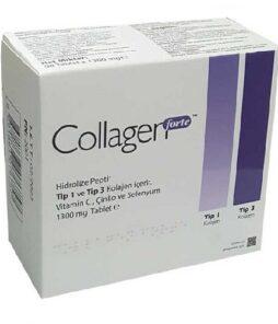 Collagen Forte Hidrolize Peptit 90 Tablet Ürün Fotoğrafı
