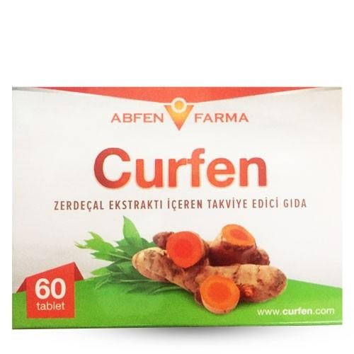 Curfen Zerdeçal 60 Tablet Ürün Fotoğrafı