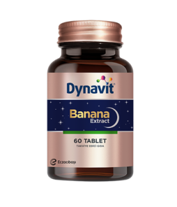 Dynavit Banana Extract 60Tablet Ürün Fotoğrafı