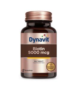 Dynavit Biotin5000Mcg100 Tablet Ürün Fotoğrafı