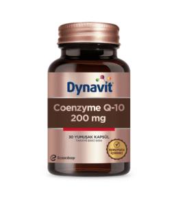 Dynavit Coenzyme Q10 200 Mg 30 Kapsül Ürün Fotoğrafı