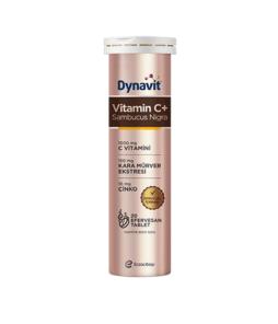 Dynavit Vitamin C 1000 Mg + Sambucus Nigra Efervesan 20 Tablet Ürün Fotoğrafı