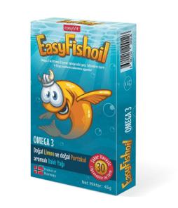 Easyvit EasyFishOil 30 Jel Tablet Ürün Fotoğrafı