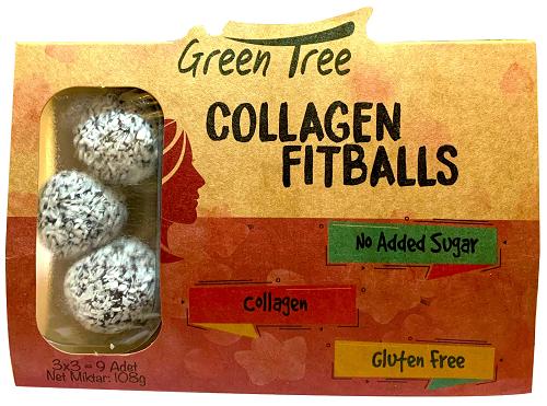 Green Tree Collagen Fitballs 108 Gr Ürün Fotoğrafı