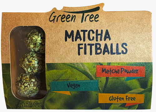 Green Tree Matcha Fitballs 108 Gr Ürün Fotoğrafı