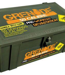 Grenade 50 Calibre Pre-Workout Ürün Fotoğrafı