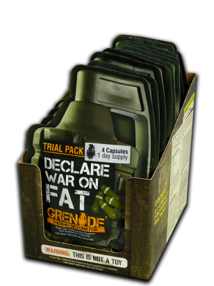 Grenade Thermo Detonator 40 Kapsül Ürün Fotoğrafı