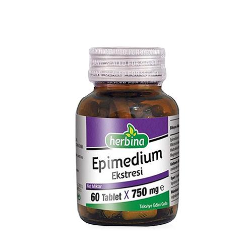 Herbina Epimedium Ekstresi 60 Tablet Ürün Fotoğrafı