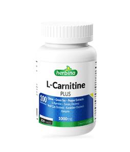 Herbina L-Karnitin Plus Yeşil Çay Citrus Karabiber 200 Kapsül Ürün Fotoğrafı