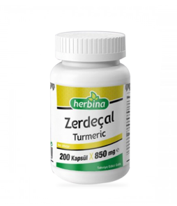 Herbina Zerdeçal Curcumin 200 Kapsül Ürün Fotoğrafı