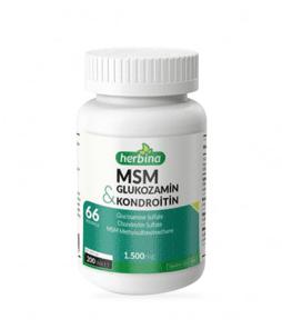 Herbina Glukozamin Kondroitin MSM 1500 Mg 200 Tablet Ürün Fotoğrafı