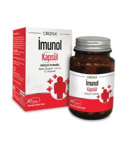 Imunol 40 Kapsül Ürün Fotoğrafı