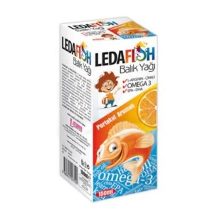 Ledafish Balık Yağı 150 ML Ürün Fotoğrafı