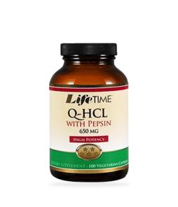Lifetime Betain HCL With Pepsin 100 Kapsül Ürün Fotoğrafı