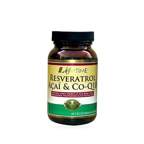Lifetime Resveratrol Acai Co Q10 60 Kapsül Ürün Fotoğrafı