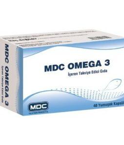 MDC Omega 3 Balık Yağı 30 Kapsül Ürün Fotoğrafı