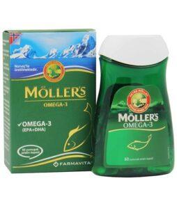 Möller's Omega 3 60 Yumuşak Kapsül Ürün Fotoğrafı