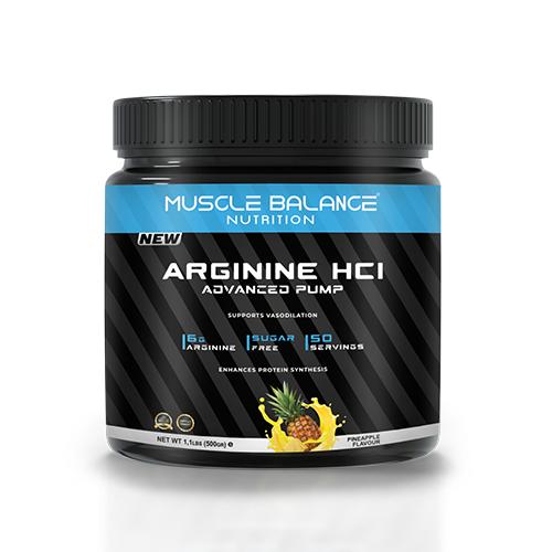 Muscle Balance Arginine HCI Advanced Pump 500 gr Ürün Fotoğrafı