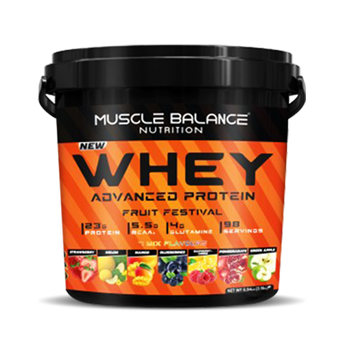 Muscle Balance Nutrition Whey Advanced Protein Fruit Festival 3150 gr Ürün Fotoğrafı