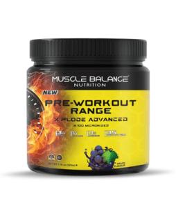 Muscle Balance Nutrition Pre-Workout Range Xplode 525 Gr Ürün Fotoğrafı
