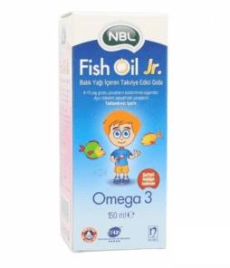 NBL Omega Fish Oil Jr 150 ml Ürün Fotoğrafı