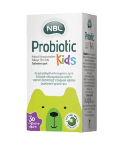 NBL Probiotic Kids 30 Çiğneme Tablet Ürün Fotoğrafı