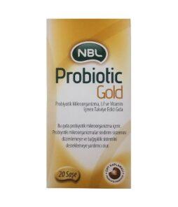 NBL Probiotic Gold 20 Sachet Ürün Fotoğrafı