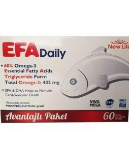New Life Efa Daily 60 Kapsül Ürün Fotoğrafı