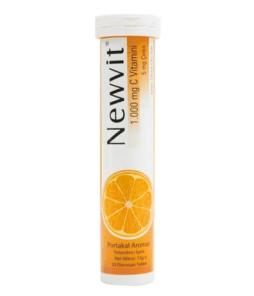Newvit Vitamin C 1000 Mg 20 Efervesan Tablet Ürün Fotoğrafı