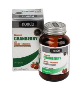 Nondo Advanced Cranberry 30 Kapsül Ürün Fotoğrafı
