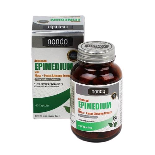 Nondo Advanced Epimedium 60 Kapsül Ürün Fotoğrafı