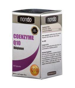 Nondo Coenzyme Q10 30 KapsülÜrün Fotoğrafı