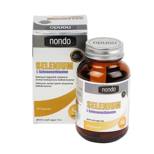 Nondo Selenium 30 Kapsül Ürün Fotoğrafı