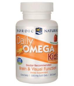 Nordic Naturals Daily Omega Kids 30 Soft Jel Ürün Fotoğrafı